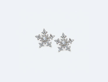 Sterling Silver Cubic Earrings img